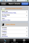 inningZ Cricket Scorer screenshot 1/1