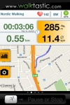 walktastic GPS nordic walking tracker for fitness screenshot 1/1