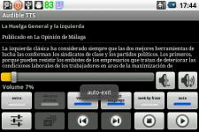 Audible TTS screenshot 5/6