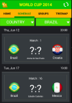 World Cup 2014 Fast Update screenshot 1/3