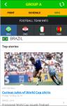 World Cup 2014 Fast Update screenshot 2/3