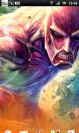 Attack on Titan Live Wallpaper 1 screenshot 2/4