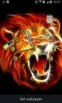 Lion Roar  alarm Clock and Flashlight screenshot 1/4