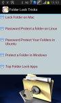 Folder Lock Tricks screenshot 2/3