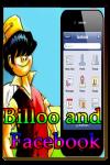 Billoo and Facebook screenshot 1/3