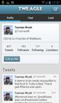 Tweagle for Twitter screenshot 3/3