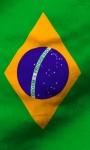 Brasil flag free screenshot 5/5