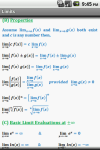 Calculus Quick Reference screenshot 2/6