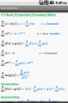 Calculus Quick Reference screenshot 3/6