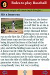 Rules to play Baseball Games screenshot 4/4