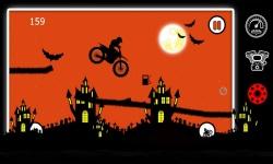 Free Moto Racer Halloween Town screenshot 3/6