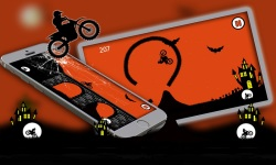 Free Moto Racer Halloween Town screenshot 5/6