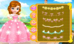 Design Princess Sofia Wedding Dress screenshot 2/3