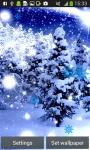 Snowfall Live Wallpapers Free screenshot 1/6