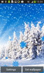 Snowfall Live Wallpapers Free screenshot 4/6