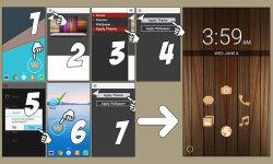 Wooden Theme screenshot 2/3