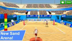 Volleyball Champions 3D 2014 ordinary screenshot 3/6