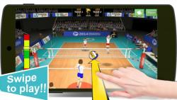Volleyball Champions 3D 2014 ordinary screenshot 4/6