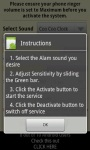 Android Theft Prevention Alert screenshot 3/5