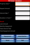 Mortgage Calculator Lite App screenshot 1/3