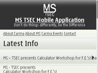 Management Society TSEC screenshot 1/1