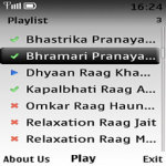 Music for Pranayam Lite screenshot 2/2