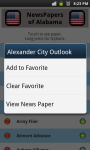 All Newspapers of Alabama-Free screenshot 4/4