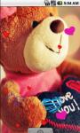 Love Bear lovely Live Wallpaper screenshot 1/4