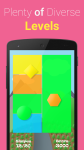 Shape Addict - simple logic casual arcade game screenshot 4/6