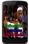 Most Influential Athletes of America screenshot 1/3