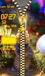 Christmas Zipper Lock Screen Free screenshot 5/6