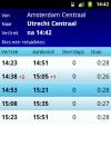 NL Train Navigator screenshot 5/6