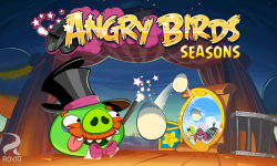Angry Birds Seasons screenshot 1/4