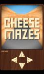 Cheese Mazes Free screenshot 1/3