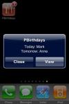 PushBirthdays 2  (Avvisi Push per Compleanni e Anniversari) screenshot 1/1