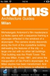 Domus Architecture Selections : Milan screenshot 1/1