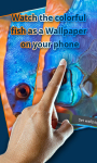 Touch Red Fish Blue Fish LWP free screenshot 4/4