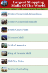 Largest Shopping Malls Of The World  screenshot 1/2