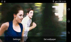 Twilight Saga Live Wallpaper screenshot 3/6