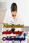 Precaution while using Microscope screenshot 1/3