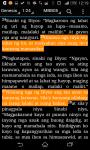 Bibliya - Tagalog Bible screenshot 2/3