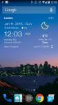 Weather Clock Widget Android screenshot 3/3