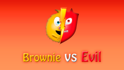 Brownie Vs Evil screenshot 1/4