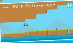 Jump Car Retro : 8bit Arcade Challenge screenshot 3/5
