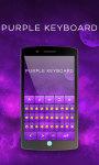 Purple Keyboard Theme Free screenshot 3/6