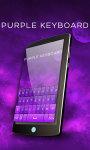 Purple Keyboard Theme Free screenshot 4/6