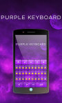 Purple Keyboard Theme Free screenshot 6/6