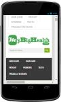 MyBigHealth Health Tips screenshot 1/3