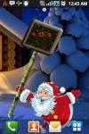 Santa New Years Live Wallpaper screenshot 1/3