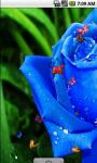 Blue Roses Live Wallpaper screenshot 2/4